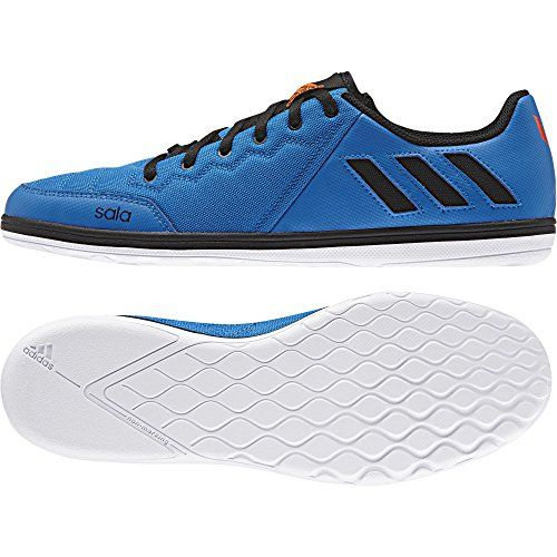 adidas Messi 16.4 Street futsal five-a-side man soccer football shoes boots blue