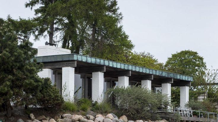 poul kjærholm arkitekt / hus kjærholm, rungsted kyst