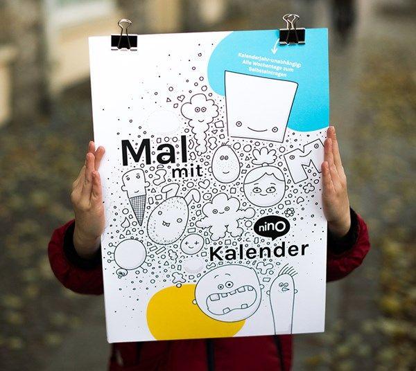 Der NINO Mal-mit-Kalender