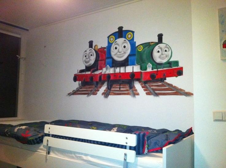25 beste idee n over brandweerman kamer op pinterest brandweerwagen babykamer brandweerman - Ontwerp muurschildering ...