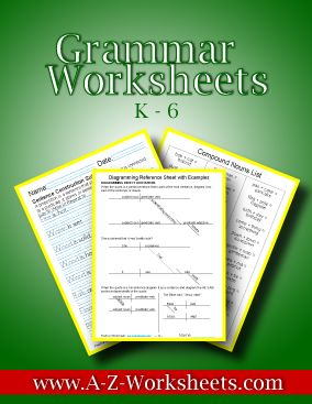 Grammar Worksheets - This download has 1300 worksheets for simple sentences and diagramming. There is also a Grammar Definitions ebook included.