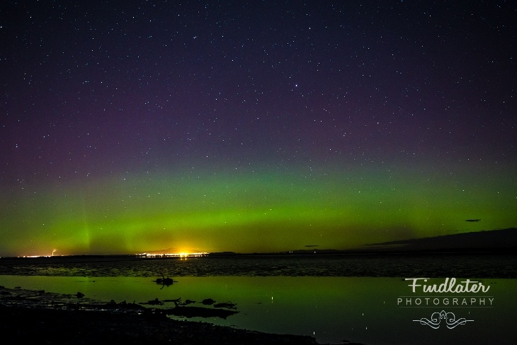 Aurora Australis - Invercargill Southland, New Zealand