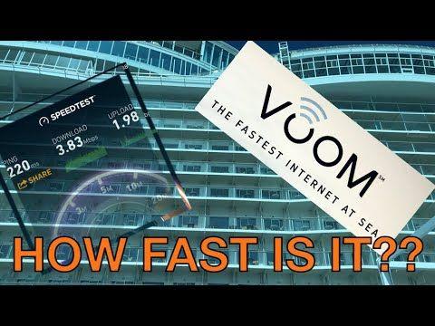 cool Voom World-wide-web Critique - Oct 2017 - Royal Caribbean Oasis Ship