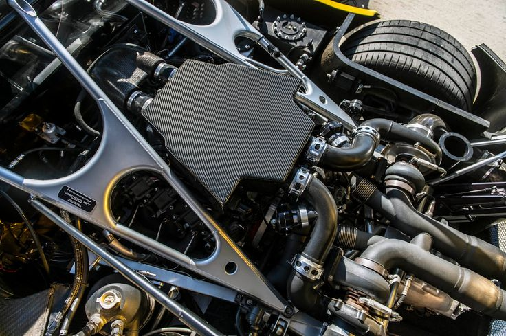 Motor Hennessey Venom Gt Spyder