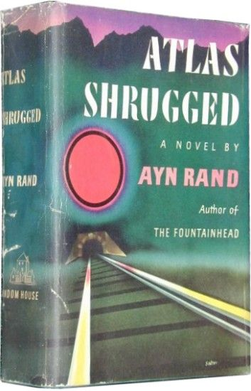 Atlas Shrugged book covers | Ayn Rand Atlas Shrugged Book Cover Ayn rand's atlas shrugged