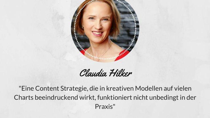 Interview Claudia Hilker über Erfolgreiche Content Markting Strategien- Praxis und Theorie