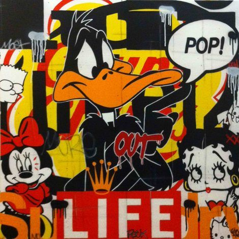 Jerome Clem, Pop Life Out on ArtStack #jerome-clem #art