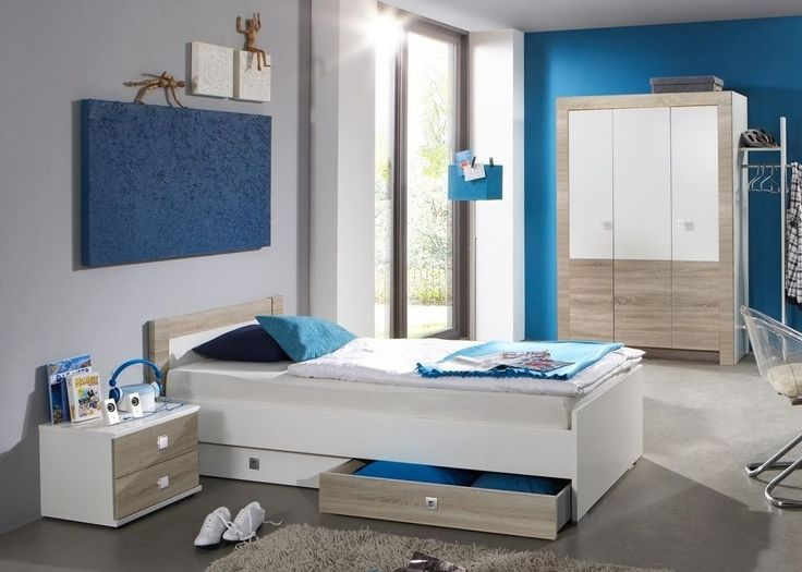 Lovely Jugendzimmer komplett Alpinwei Eiche S gerau Buy now at http