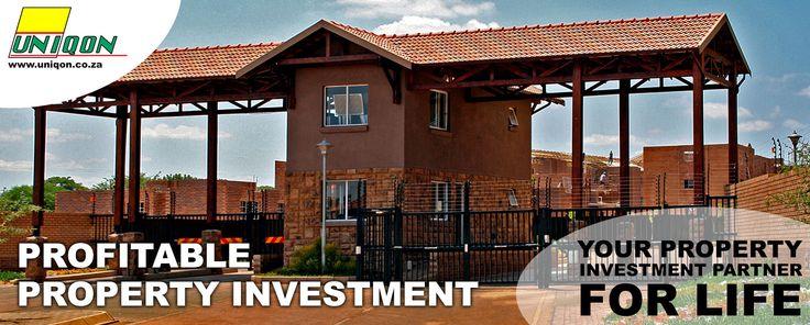 Profitable Property Investment  Contact charl@uniqon.co.za