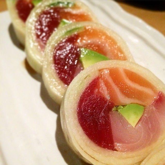 Strange sushi