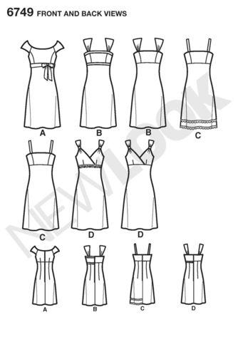 NL6749 Misses Dress