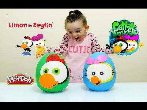 Limon ile Zeytin Sürpriz Yumurta Oyun Hamuru - Cicibiciler My Little Pon...