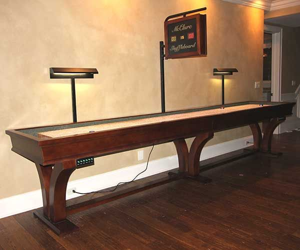 Shuffleboard Tables For Sale | McClure Handcrafted Shuffleboards https://www.mccluretables.com/?utm_content=buffer56013&utm_medium=social&utm_source=pinterest.com&utm_campaign=buffer