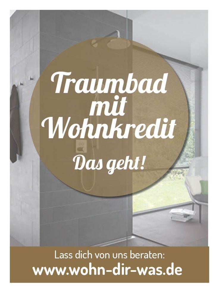 Vom #Wellnessbad über #Wow-Badezimmer bis hin zum #Umbau, #Renovierung oder #Sanierung von #Eigenheim oder #Wohnung. Mit uns schaffst du das. Mehr unter www.wohn-dir-was.de Bildmaterial: (c)  Toto