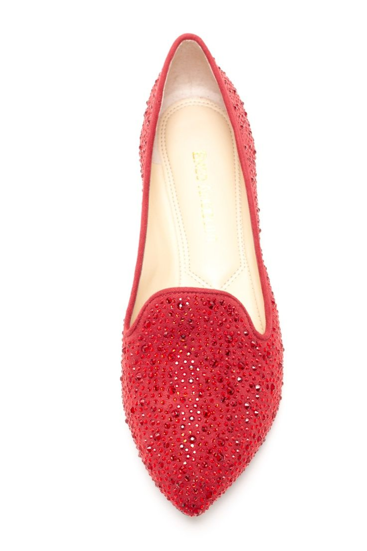 Enzo Angiolini Supremely Red Loafer on hautelook
