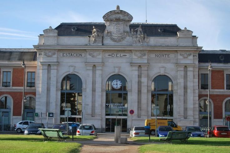 Estación de tren Valladolid, Spain