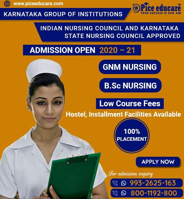Karnataka Group Of Institutions In 2020 College Admission Nursing Courses Admissions