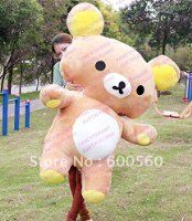 Limited Edition!! Giant Plush Stuffed Rilakkuma Free Shipping FT90075 ! Good Birthday Gift and Valentines' Day Gift!