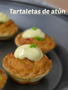 Cuuking! Recetas de cocina: Tartaletas templadas de atún