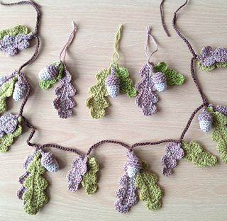 Garland crochet Tutorial