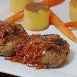 Salisbury Steak met uienjus