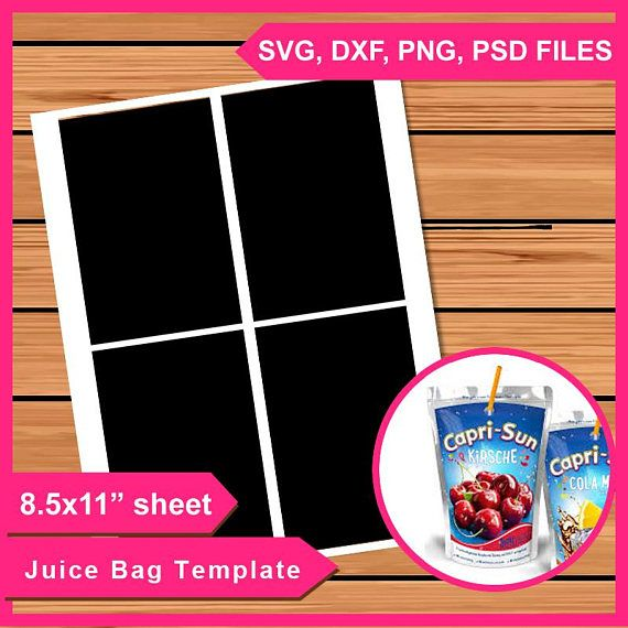 Hey I Found This Really Awesome Etsy Listing At Https Www Etsy Com Listing 598171865 Capri Sun Juice Bag Labels Layer Capri Sun Juice Capri Sun Labels Diy