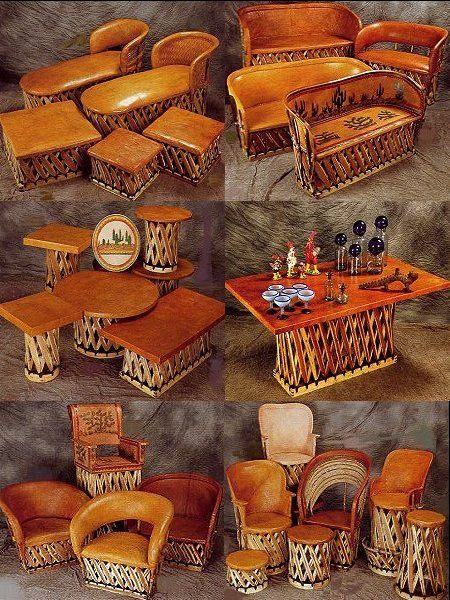 Southwest and Beyond - Equipale Furniture Mexican Pigskin Leather Furniture