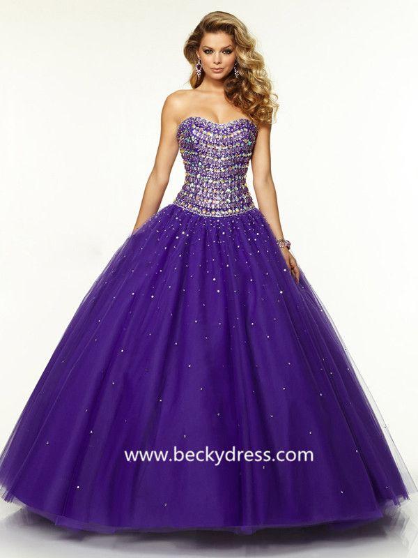 Mejores 38 imágenes de Quinceanera Dresses en Pinterest | Vestido de ...