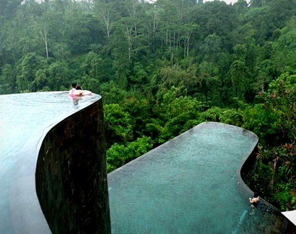 Swimming pool at Bali