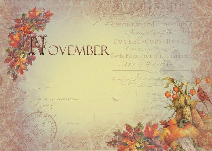 November Background ~ Image du Blog lespassionscreativesdemarie.centerblog.net