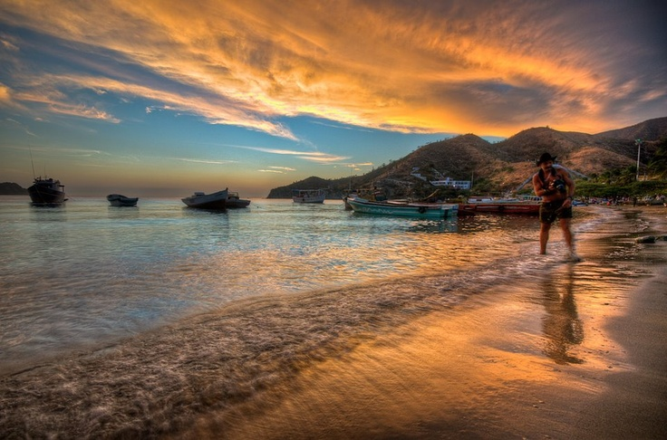 Taganga - La magia de sus atardeceres #WTD2012