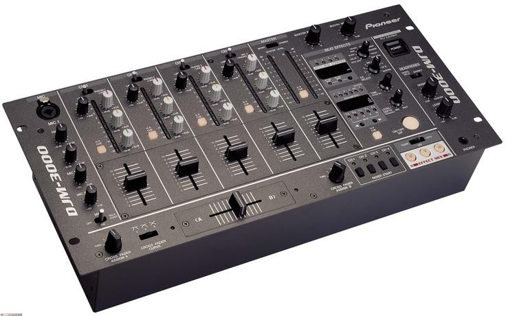 Pioneer DJM3000 Mixer - DJ Mix Club