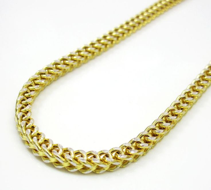 Franco gold chains are considered to be the strongest link