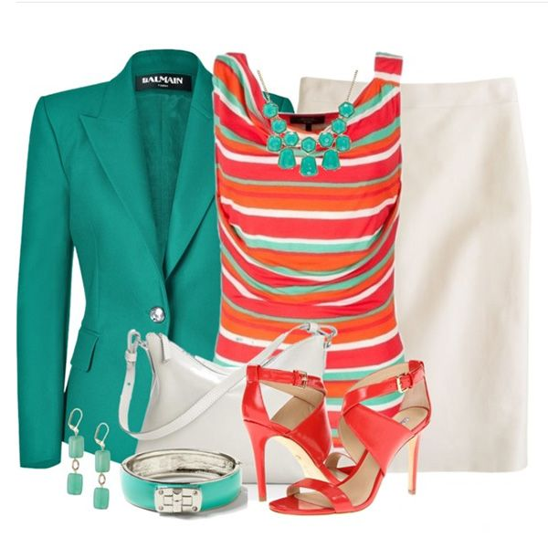 Коралловый цвет в одежде: варианты сочетаний - Ярмарка Мастеров - ручная работа, handmade