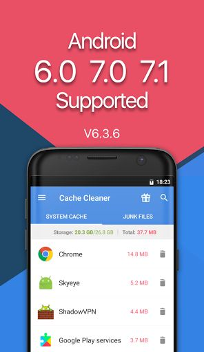App Cache Cleaner - Classic v6.0 v6.6.7 [Pro]   AppCacheCleaner - Classic v6.0 v6.6.7 [Pro] Requirements:4.0.3 and up Overview:AppCacheClean Master is an Easy and Simplecachemanager for Android devices. It can CleanCache& Junk for apps Free Up storage space Boost Up & Speed up your phone's speed and performance!   The Classic v6  Let the stable v6.6.5 Holding the Position of the Old School AppCacheCleaner. In case of any complain about the new version - 7 better keep this Classic v6 for the…