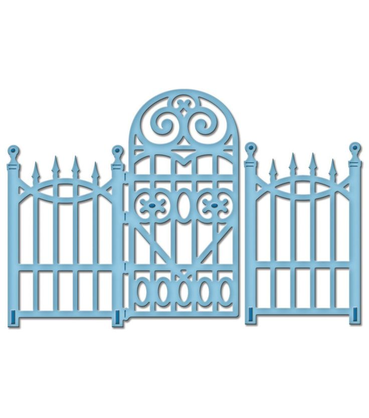 Открытки с оградами, дедом