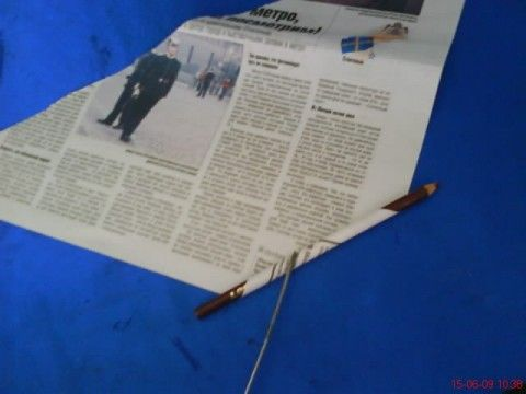 Багет из газет