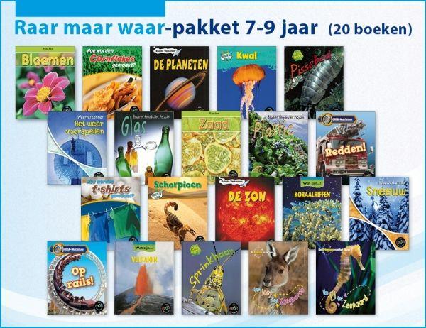 Raar maar waar-pakket 7-9 jaar (20 boeken)