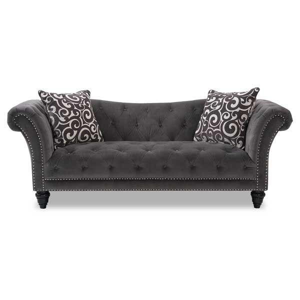 Thunder Tufted Sofa $628.00 American Furniture Warehouse