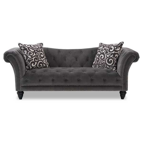 Thunder Tufted Sofa $628 00 American Furniture Warehouse