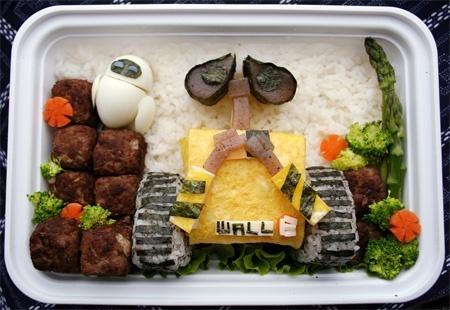 walle food-art: Creative Food, Walle, Boxes, Fun, Wall E Bento, Food Art, Foodart