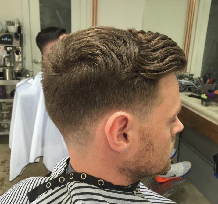 Corte de pelo para hombre hongo
