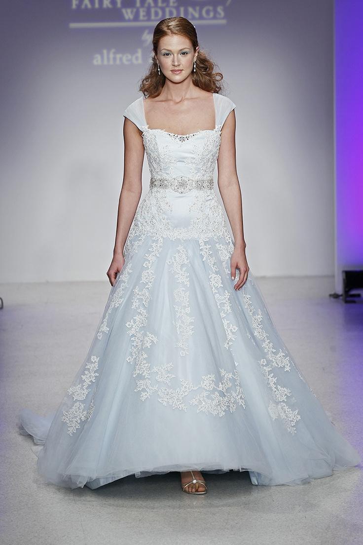 9 best Blue and White Wedding Dress images on Pinterest   Short ...