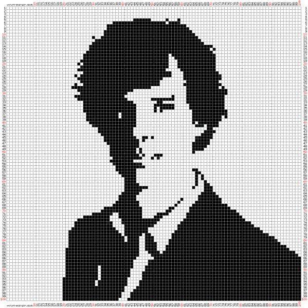 Aaw. Sherlock Stitch cross