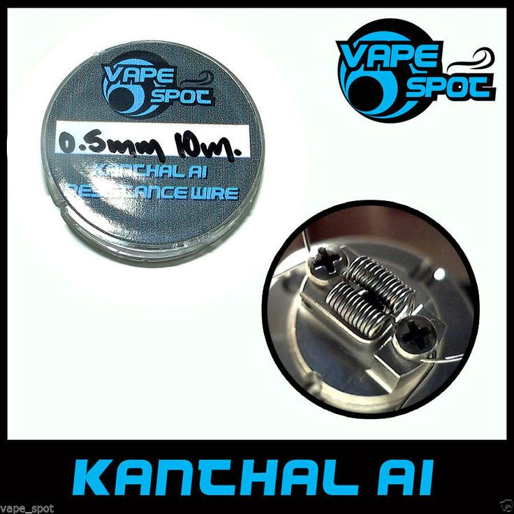 KANTHAL A1 0.50mm / 0.0195''/ AWG 24 , Resistance Heating Wire SPOOL 10m./32.8ft