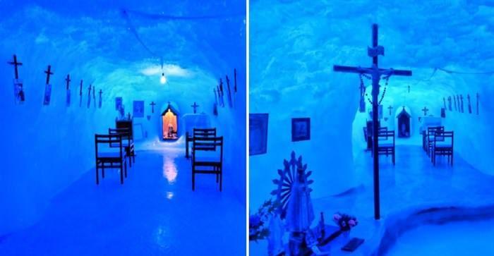 Η Παναγία των Πάγων η εκκλησία στο νοτιότερο σημείο του κόσμου στην Ανταρκτική  #διεθνή
