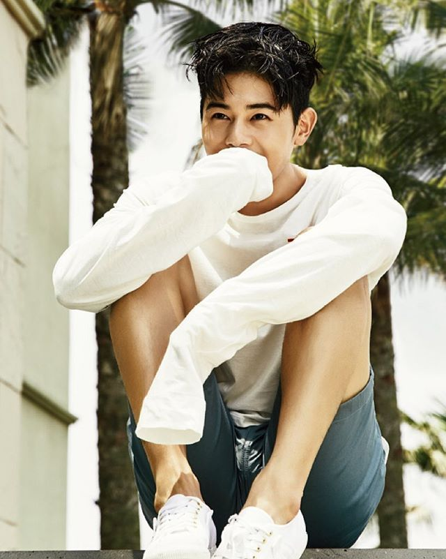 ZE:A's Kim Dongjun (@super_d.j ) for Sure Magazine (@suremag ) July 2016. Photographed by @kimheejune
