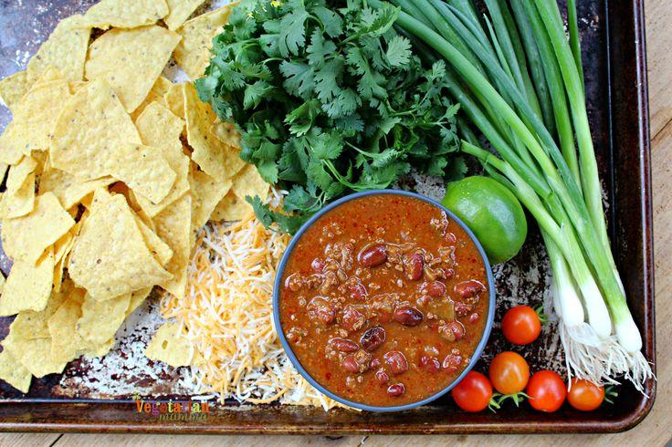 Oven Baked Nachos - gluten free and vegetarian