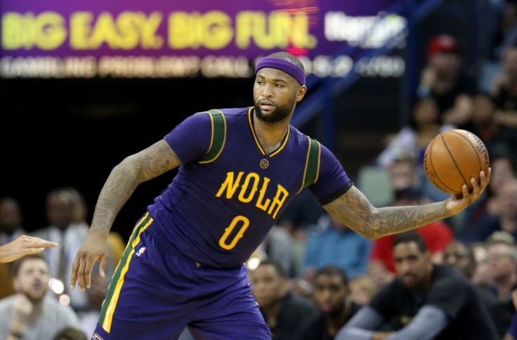 Feb 23, 2017; New Orleans, LA, USA; New Orleans Pelicans forward DeMarcus Cousins (0) in the second quarter against the Houston Rockets at the Smoothie King Center. Mandatory Credit: Chuck Cook-USA TODAY Sports