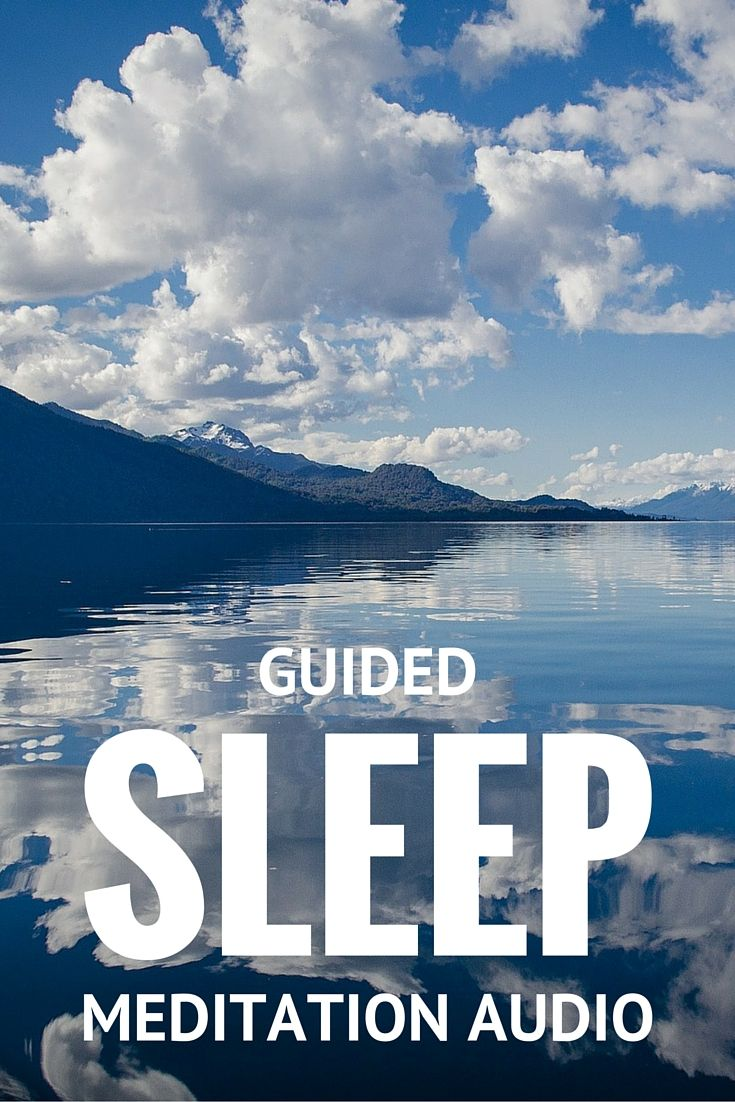 Sink into peaceful, restful and regenerating #sleep with this guided sleep #meditation audio. There is nothing you need to do, there is no need to try – sleep comes to visit you with this guided process.